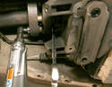 If the front flex disc passes visual inspection, it can be left on the transmission.