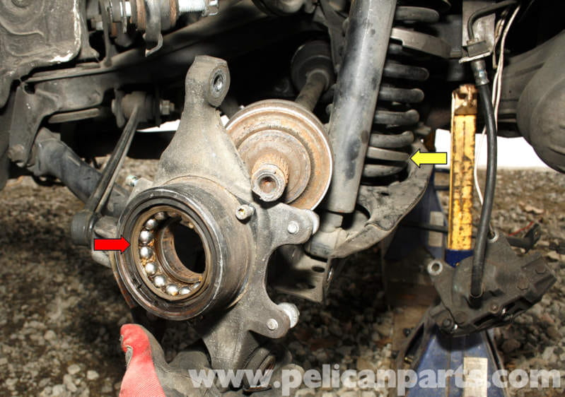 Mercedes Benz Slk 230 Rear Wheel Bearing Replacement