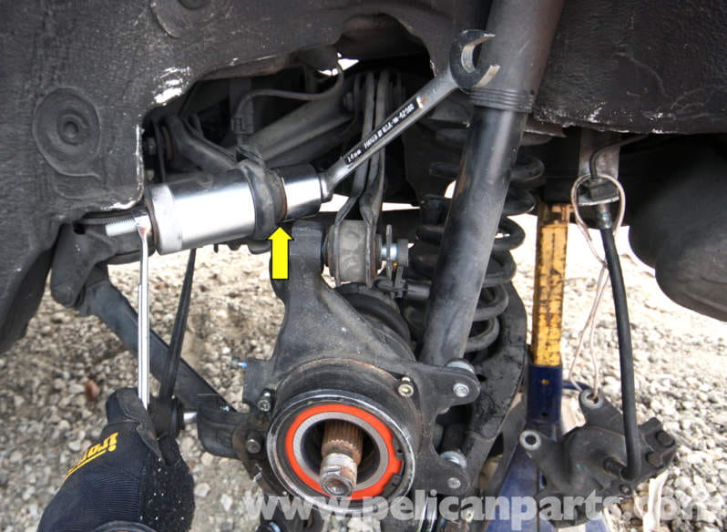 Mercedes Benz Slk 230 Rear Suspension Bushing Replacement