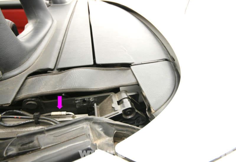 Mercedes Benz Slk 230 B Pillar Base Panel Cover Removal
