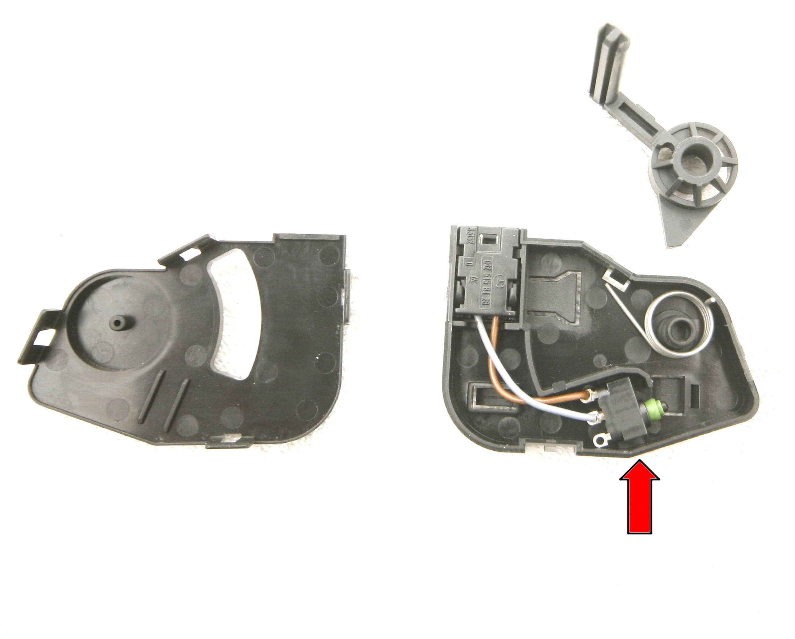 Mercedes Benz Slk 230 Vario Roof Switches Location And Id 1998 2001 Slk230 Fuse Diagram Large Image Extra