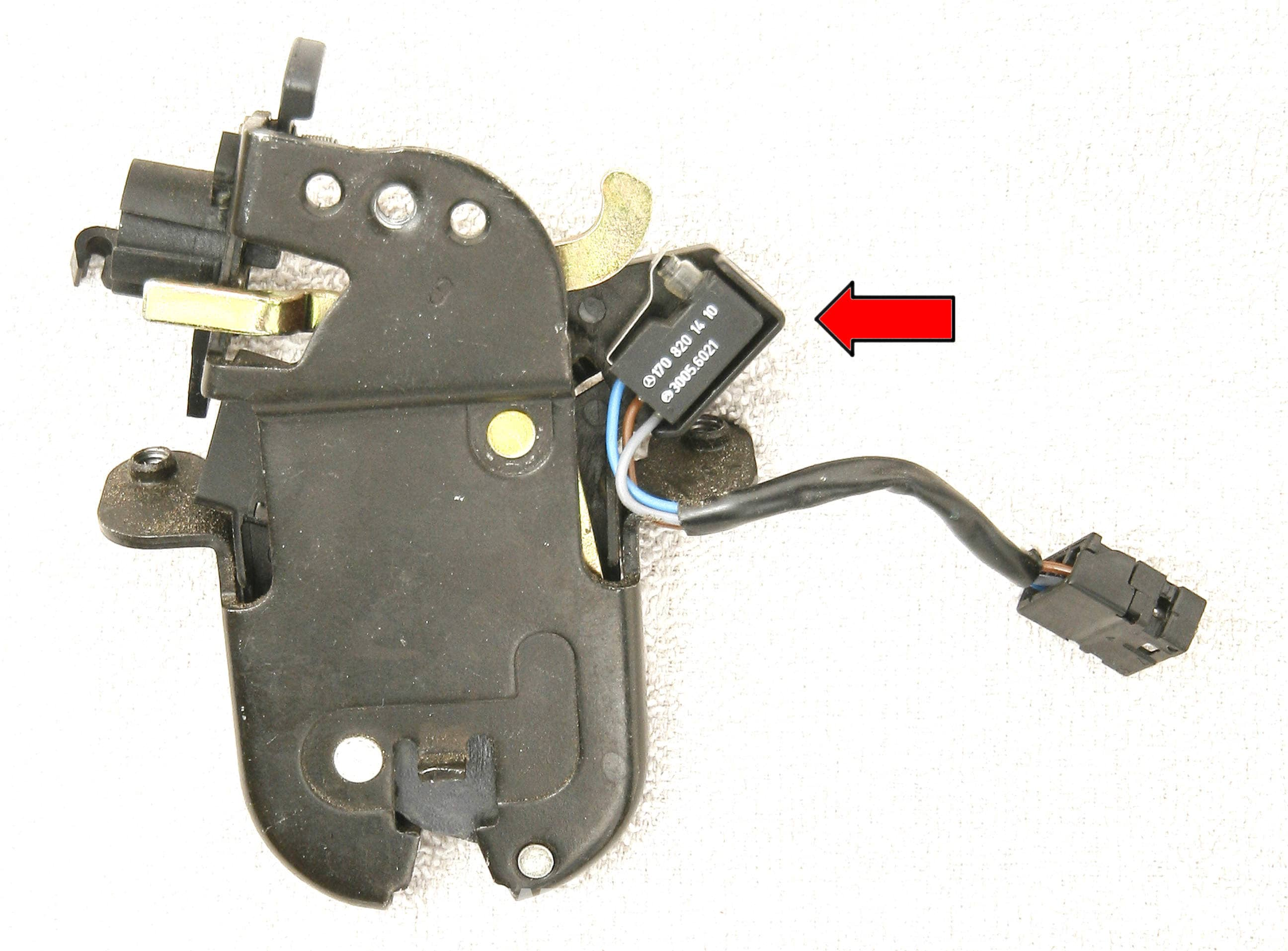 Mercedes Benz Slk 230 Vario Roof Switches Location And Id 1998 Micro Switch Seat Belt Open Wiring Diagram Large Image Extra
