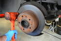 There is a good chance if the rotor has been on for any length of time that it will be rusted and corroded onto the hub.