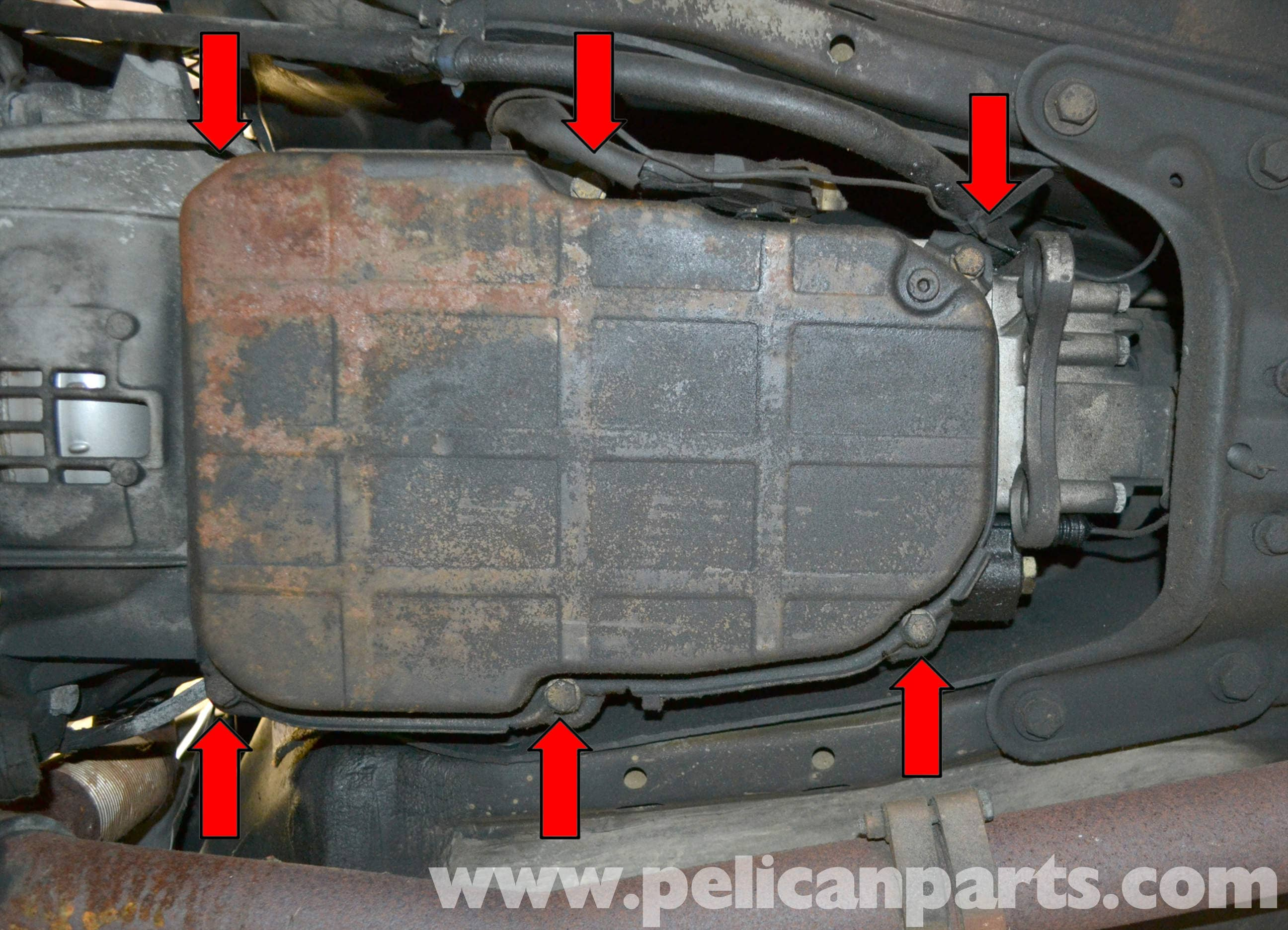 Mercedes-Benz W123 Automatic Transmission Fluid and Filter Change