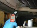 You will need to monitor the temperature of the fluid as the car warms up.