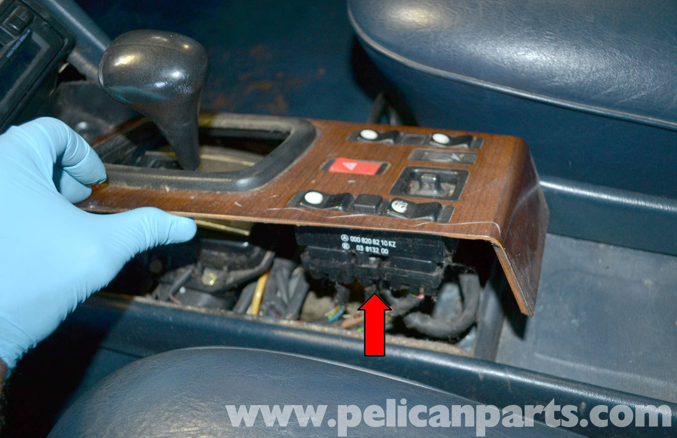 mercedes benz w123 flasher switch and relay replacement w123 1977 rh  pelicanparts com Signal Switch Wire