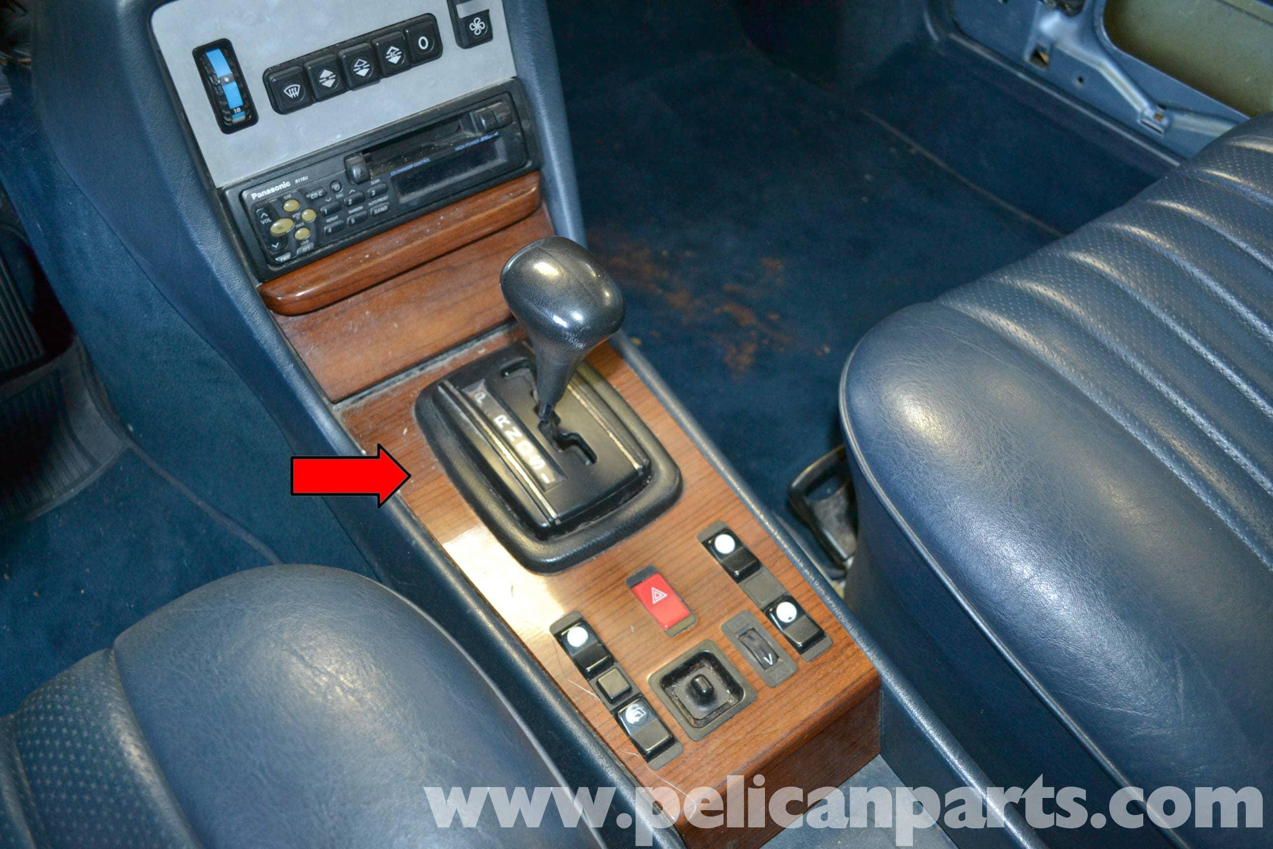 Mercedes Benz W123 Shifter Bushing Replacement W123 1977 1985 Pelican Parts Diy