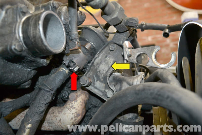 Timing Chain Replacement >> Mercedes-Benz W123 EGR Change Over Valve Replacement ...