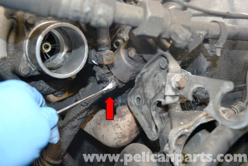 Mercedes Benz W123 Egr Change Over Valve Replacement