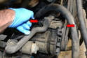 The alternator bracket was designed and redesigned several times over the years but they all work on the same principle.