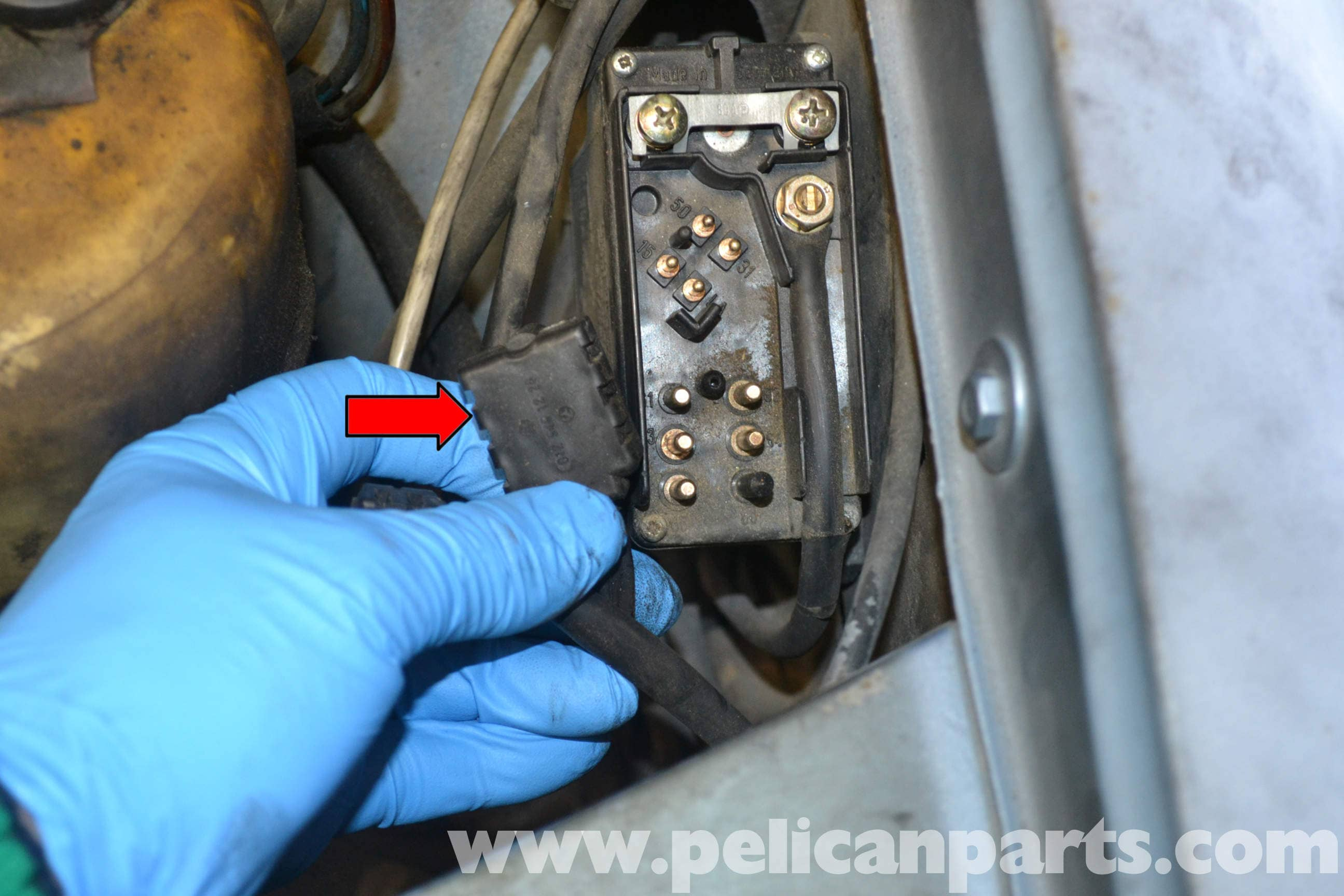 Mercedes Benz W123 Glow Plug Relay Replacement 300td 1977 1985 Wiring Up Plugs Large Image Extra