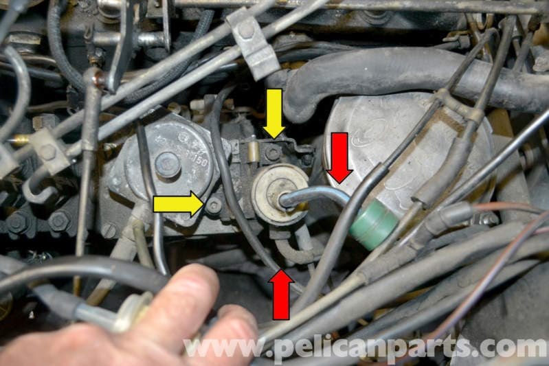Mercedes Benz W123 Ignition Pump Shut Off Valve