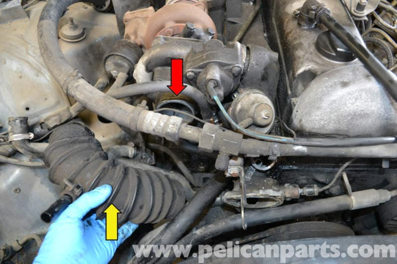 Mercedes-Benz W123 Turbo Removal | 300TD 1977-1985 | Pelican Parts