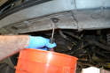 Drain the coolant, please see our article on coolant flush and fill for additional assistance.