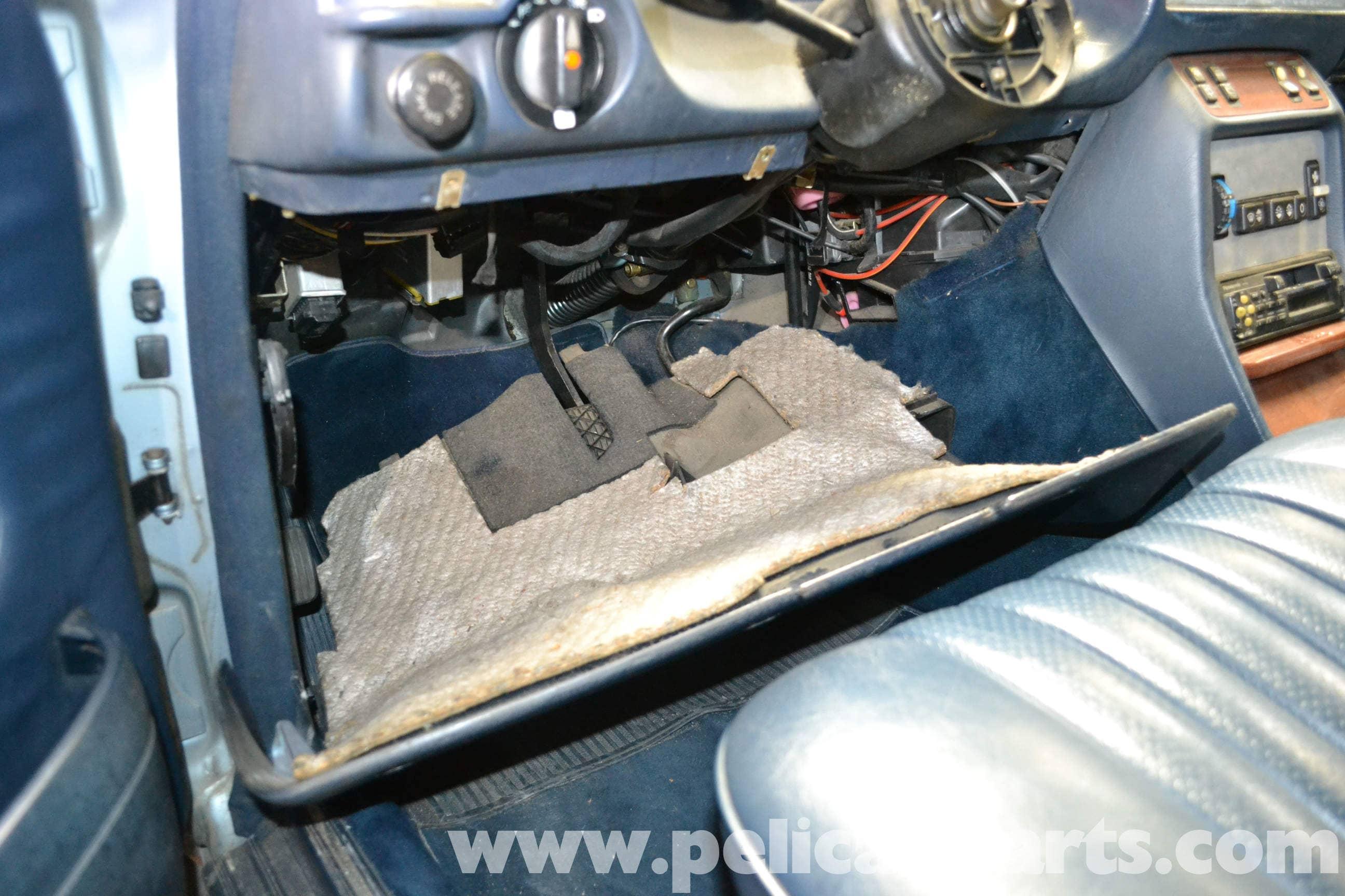 2003 Chevy Instrument Clusterthe Wiring Under The Dashfoot