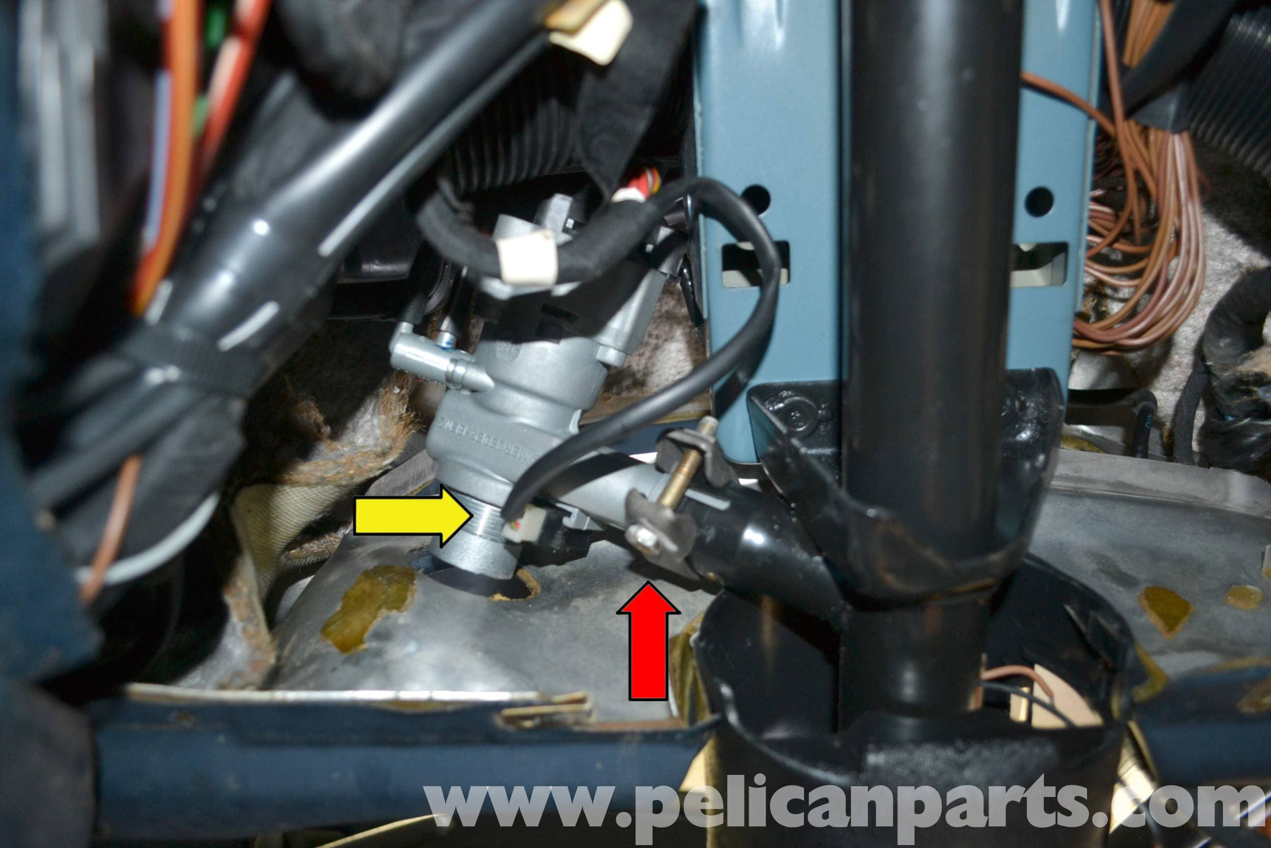 Mercedes Benz W123 Ignition Switch And Assembly Replacement 240d Light Wiring Diagram Large Image Extra