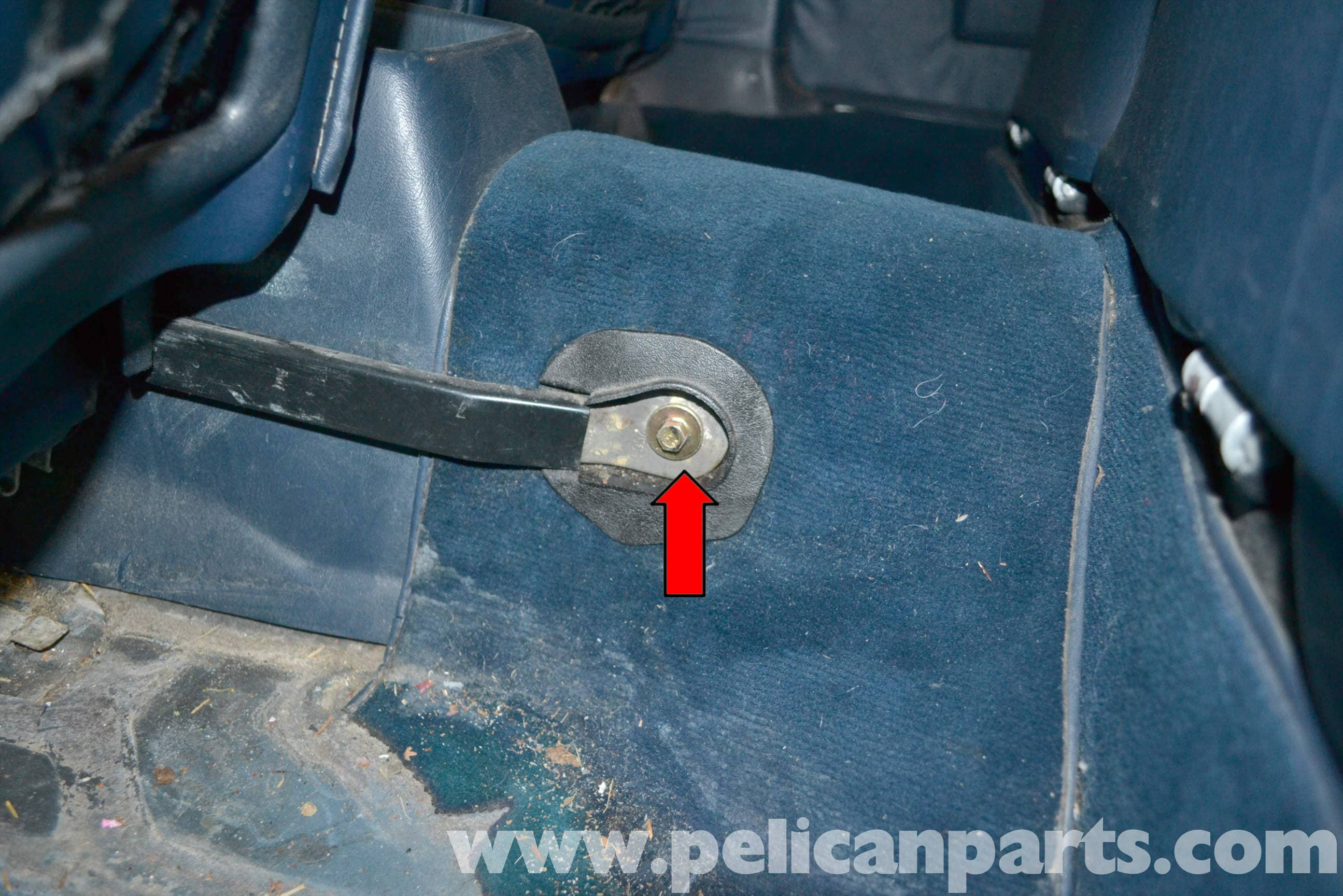 Mercedes-Benz W123 Seat Removal | W123 (1977-1985) | Pelican Parts ...