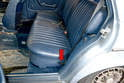 Rear Seat- There is a release at the side of the seats that will allow you to both fold the bottom of the seat forward and lower the rear upright section (in the wagon).