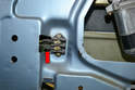Make sure you mark the wiring to the regulator (red arrow) and then disconnect them from the mount.