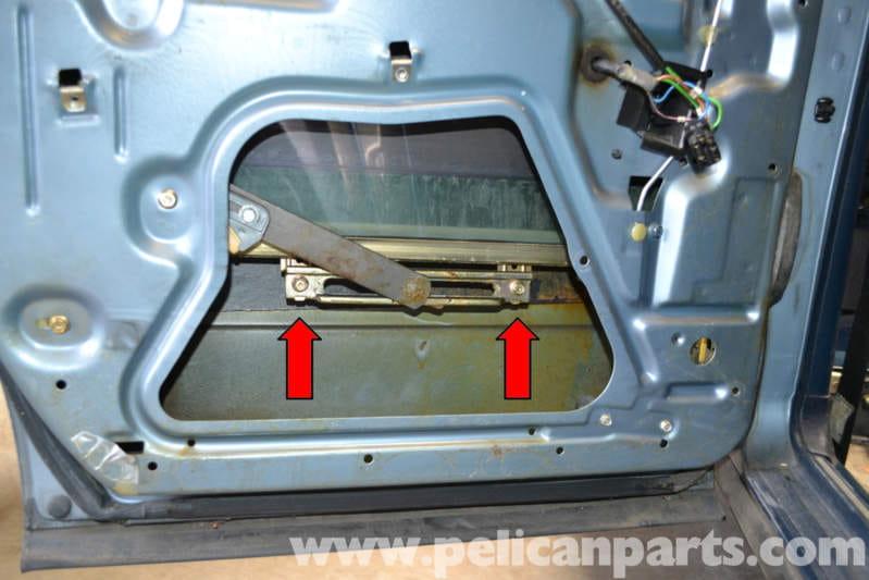 Mercedes Benz W123 Rear Window Regulator Replacement