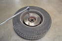 The rotor is attached to the hub with a fair amount of torque and usually some blue Loctite.