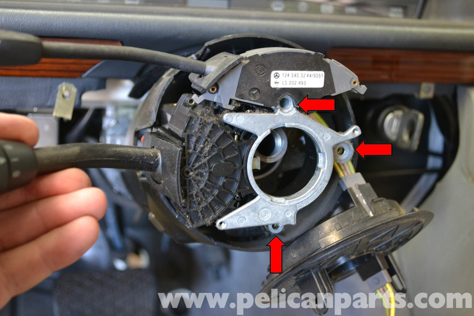 Cruise Control Sensor : Mercedes benz w cruise control switch replacement