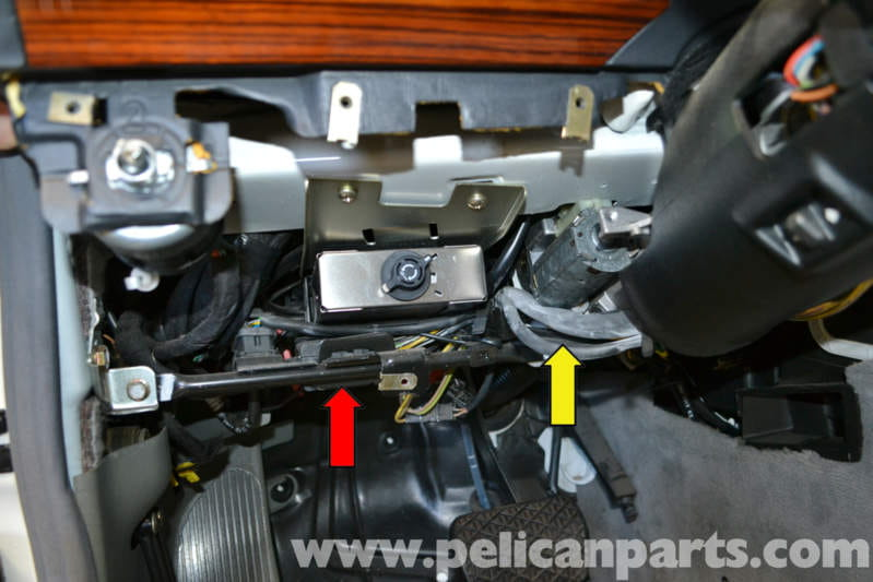pic14 mercedes benz w124 turn signal, dimmer and wiper switch Steering Column Wiring Harness Non-Automotive at gsmx.co