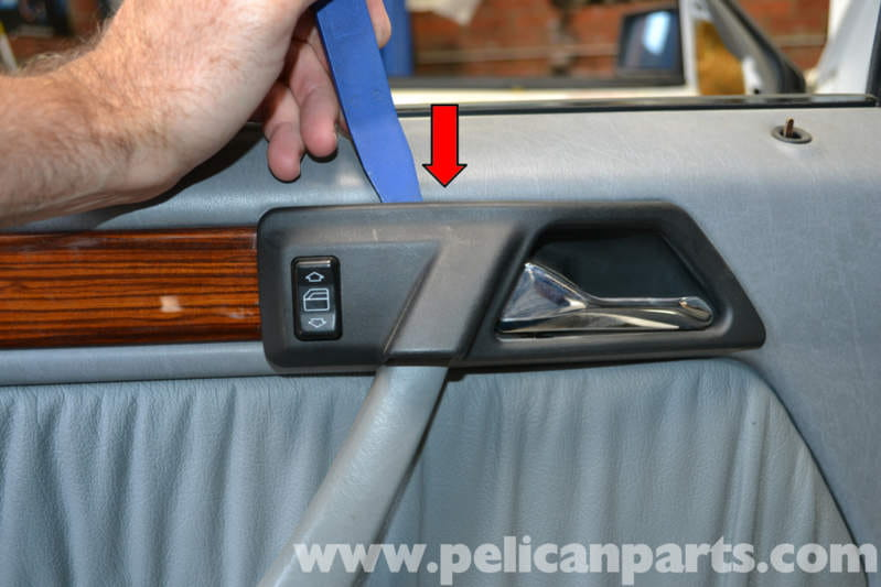 Mercedes Benz W124 Rear Door Panel Removal 1986 1995 E