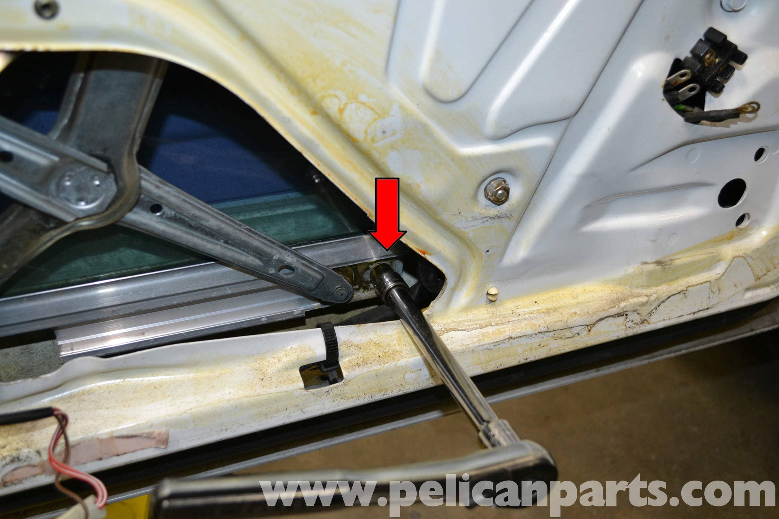 Mercedes benz w124 front window regulator replacement for Mercedes benz glass replacement