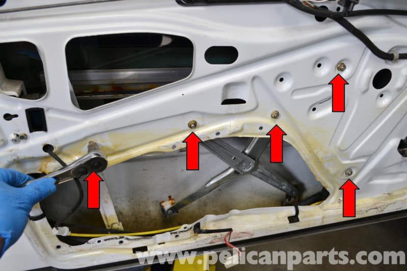 Mercedes Benz W124 Front Window Regulator Replacement