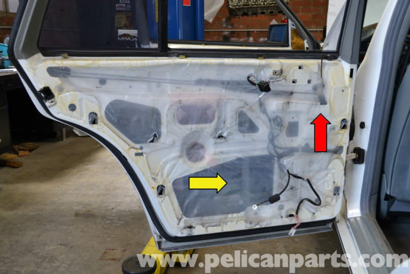 Mercedes Benz W124 Rear Door Lock Replacement 1986 1995