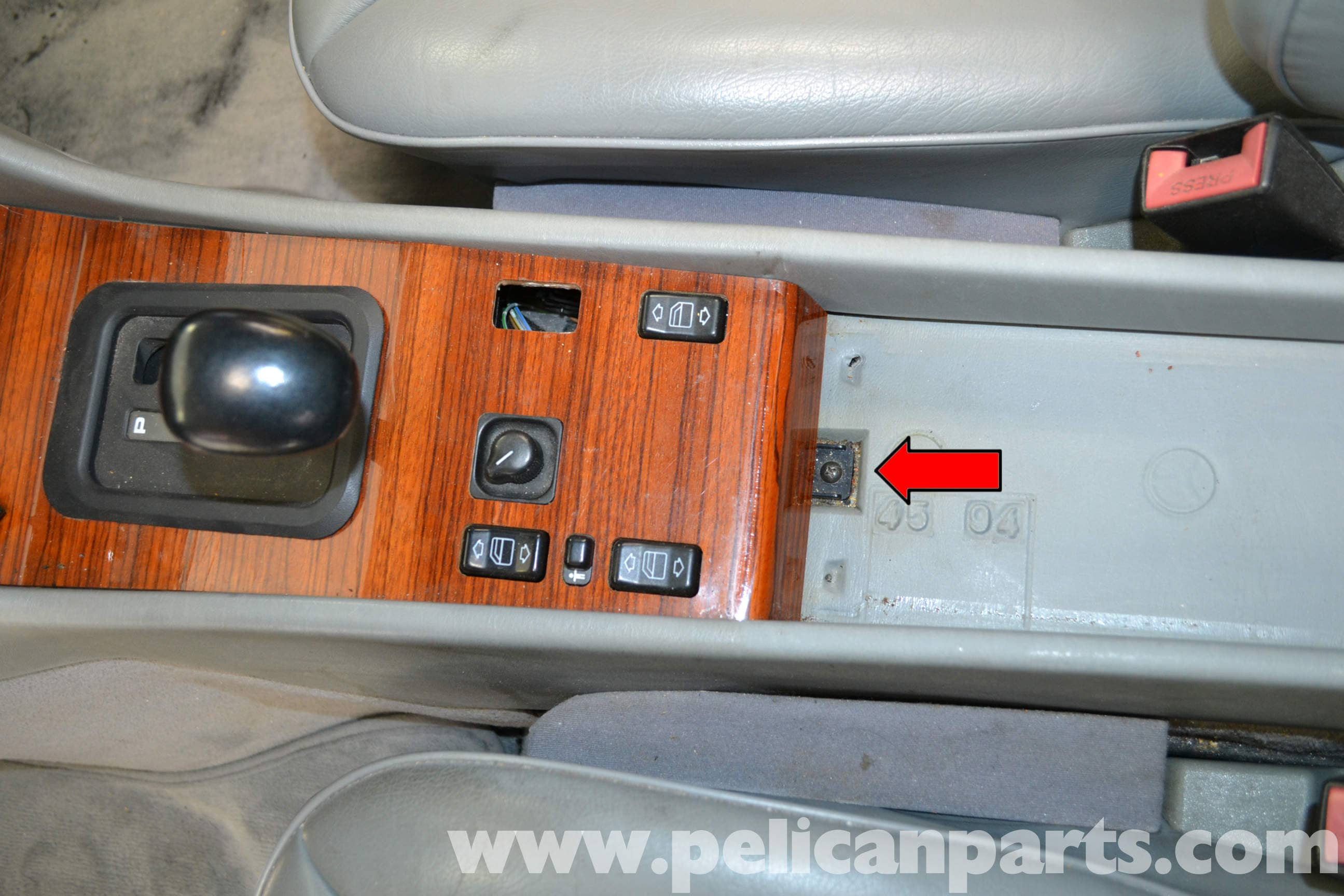 ... rear of the center console. Large Image | Extra-Large Image
