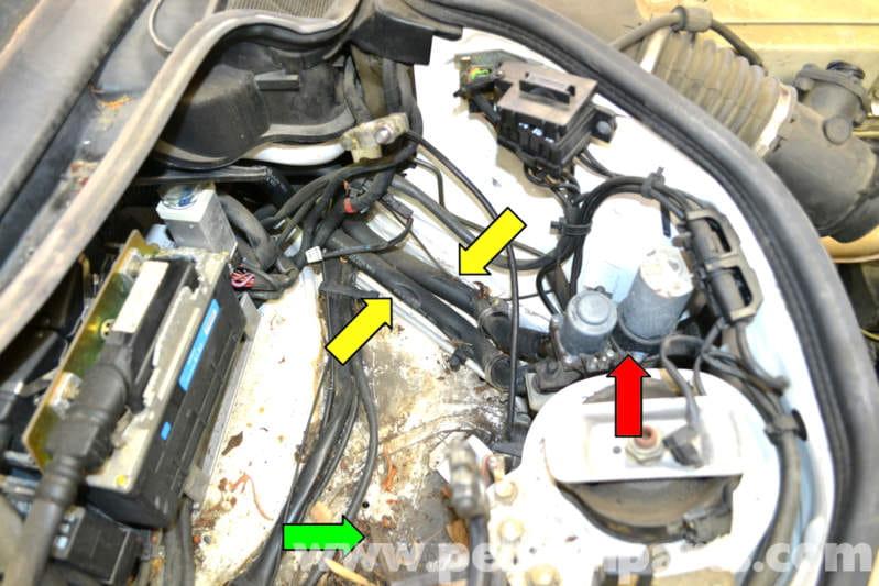Mercedes-Benz W124 Heater Valve Replacement | 1986-1995 E