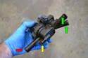 This picture illustrates the heater valve out of the vehicle.