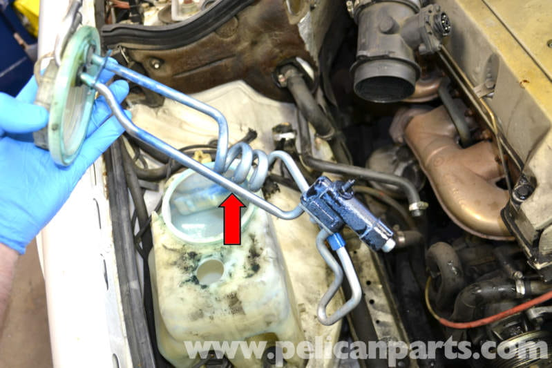 Windshield Replacement Come To You >> Mercedes-Benz W124 Windshield Washer Reservoir Pumps and ...