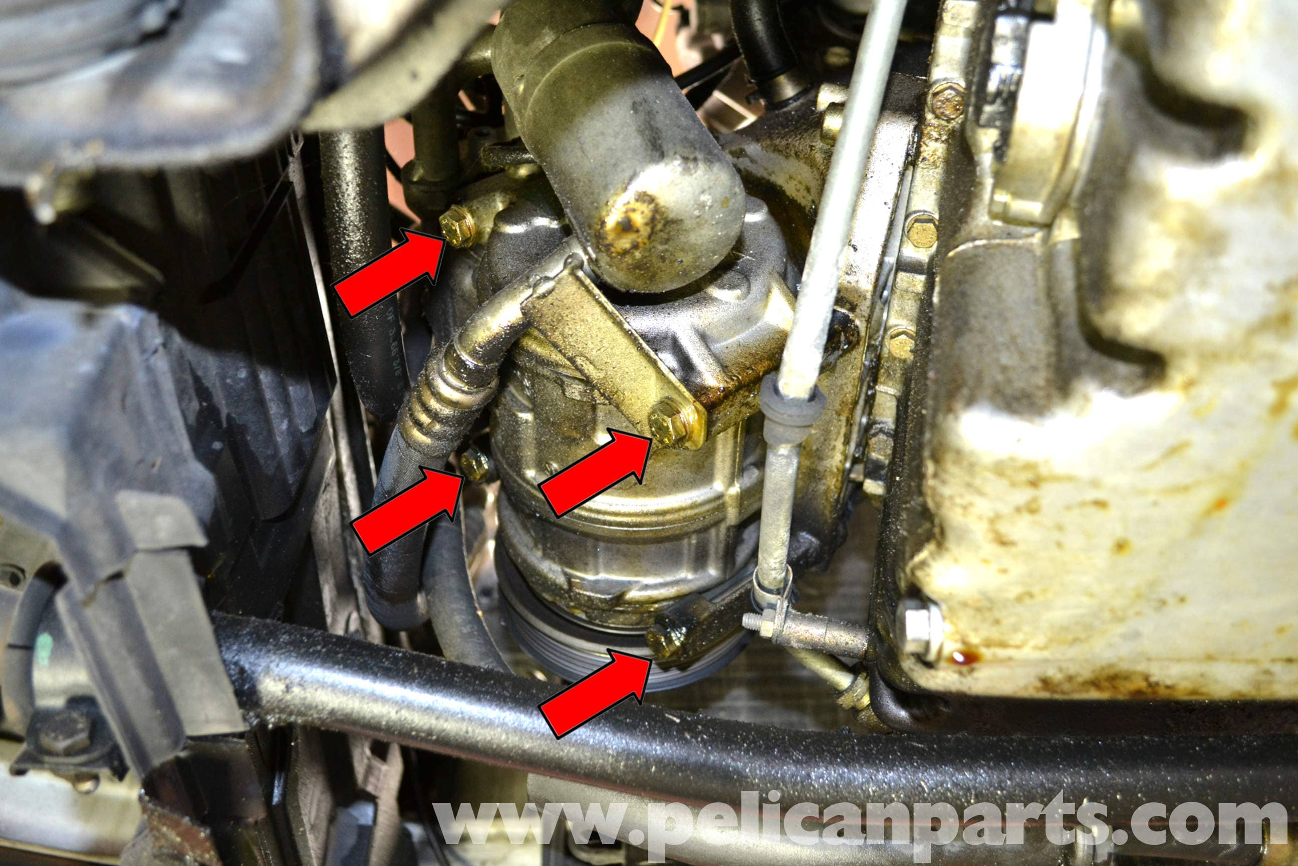 Mercedes benz w124 a c compressor and condenser for Mercedes benz ac compressor