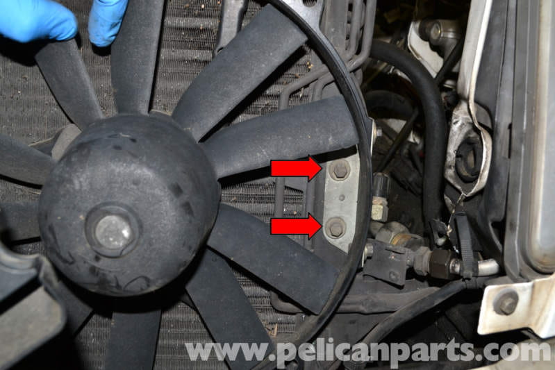 Mercedes-Benz W124 Auxiliary Fan Replacement | 1986-1995 E-Class