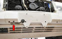 There is an outside air temperature sensor mounted to the lower part of the front bumper cover (red arrow).