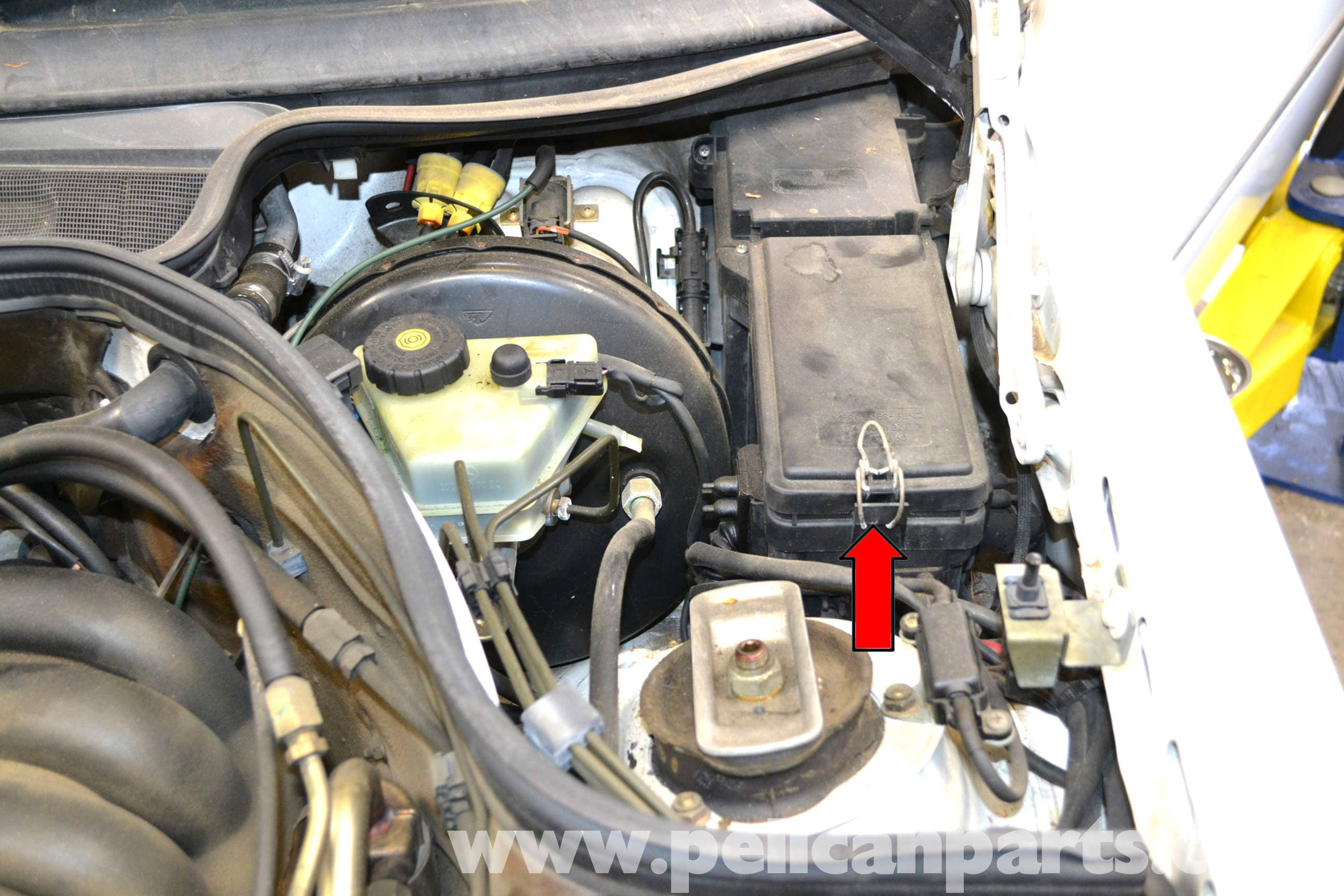 300e Fuse Box Reveolution Of Wiring Diagram Vehicle Cover Mercedes Benz W124 Outside Air Temperature Sensor Replacement 1986 Rh Pelicanparts Com 1990 Circuit Breaker