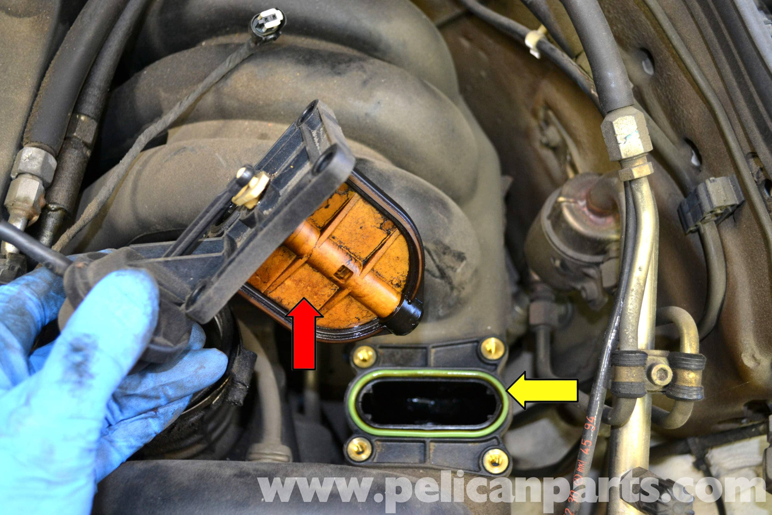 Mercedes benz w124 resonance valve replacement 1986 1995 for Mercedes benz w124 parts
