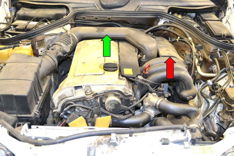 mercedes benz  resonance valve replacement    class pelican parts diy