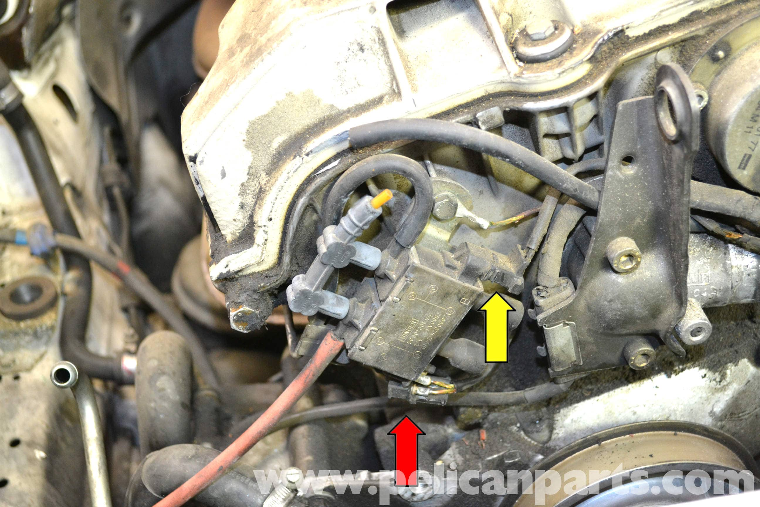 Mercedes-Benz W124 EGR Change Over Valve Replacement | 1986-1995 E