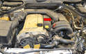 Above Method- If you want to replace the rear sensor from above you will need to remove the throttle body (red arrow).