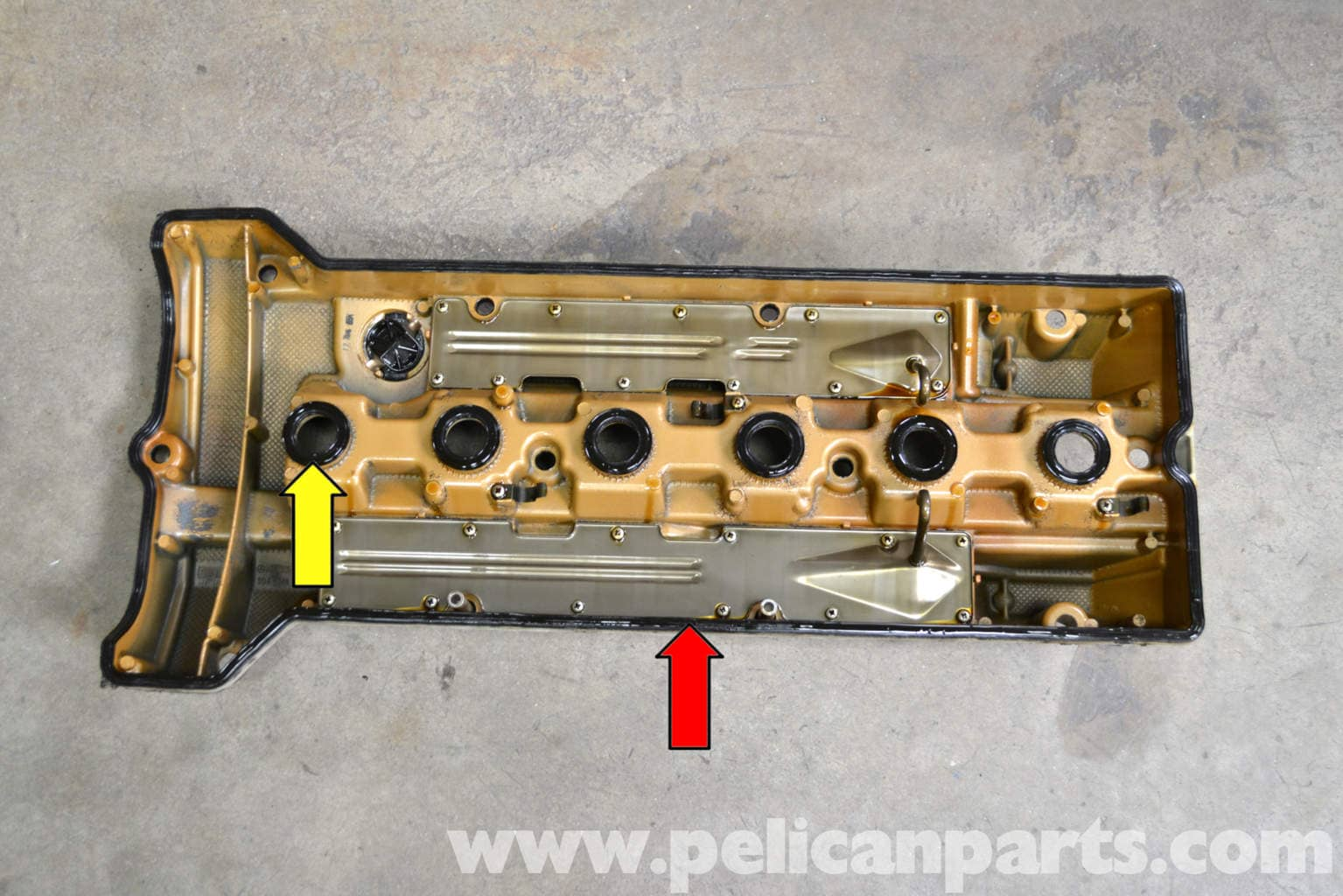 Mercedes Replacement Parts >> Mercedes-Benz W124 Valve Cover Gasket Replacement | 1986-1995 E-Class | Pelican Parts DIY ...