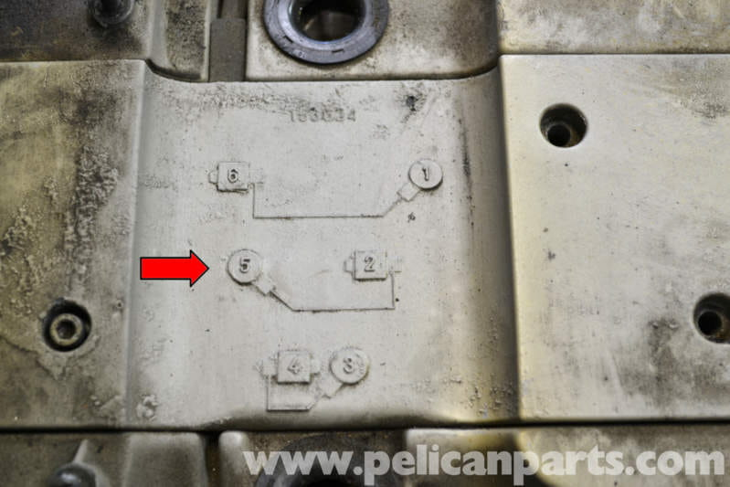 mercedes benz w124 valve cover gasket replacement 1986 1995 e Toyota Ignition Coil Wiring Diagram there is a diagram on the top of the cover that illustrates the coil and plug