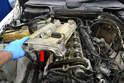 Remove the valve cover.