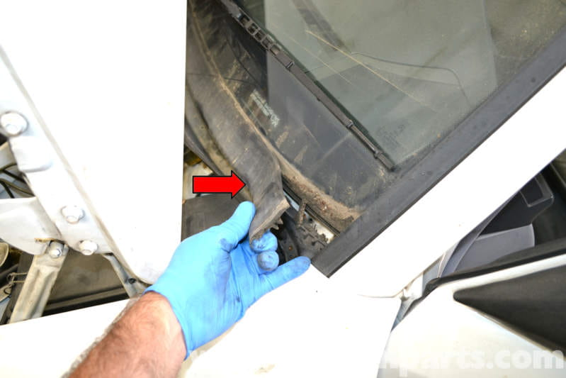 Mercedes Benz W124 Mono Post Wiper Repair And Replacement