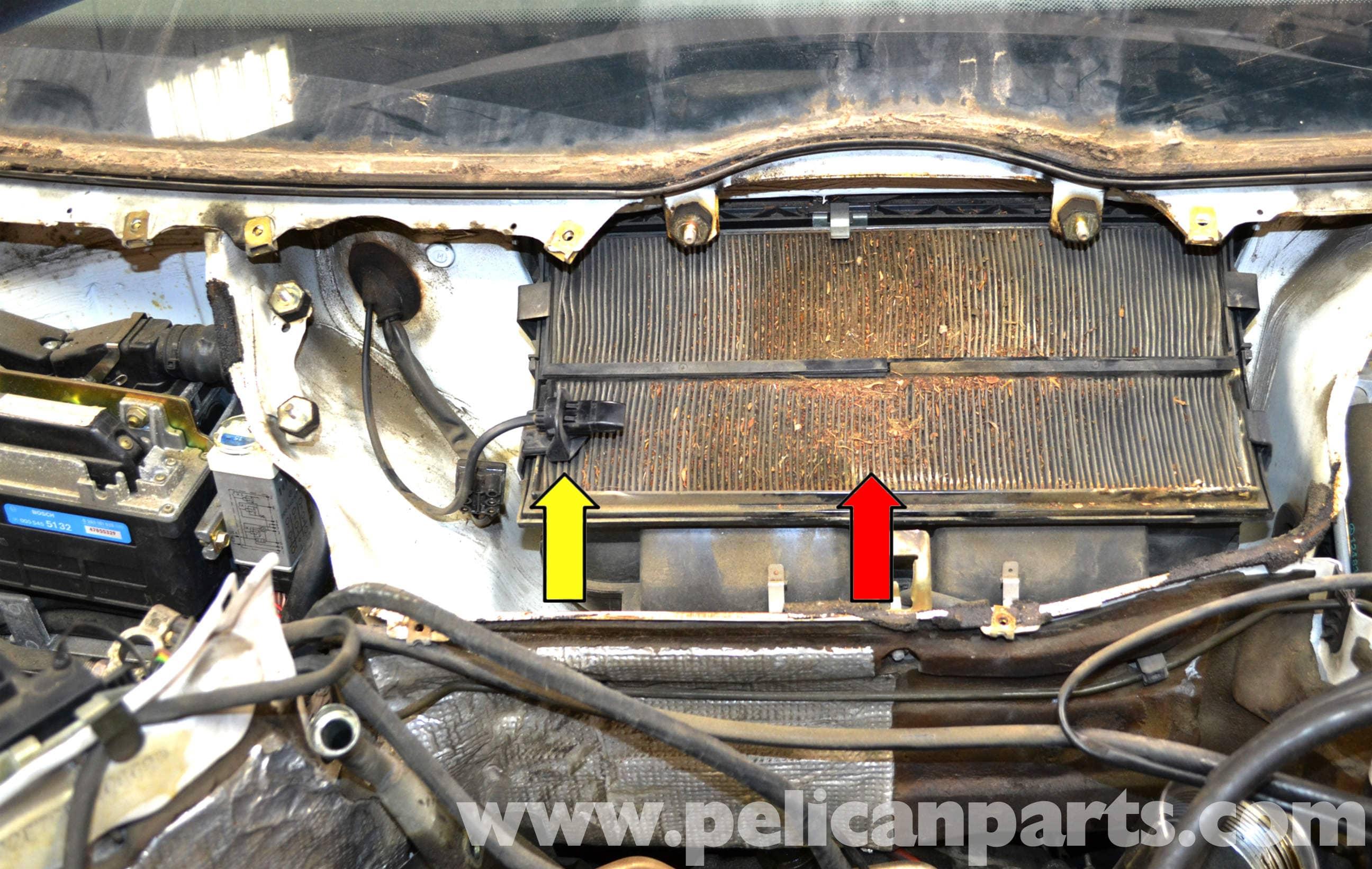 Mercedes Benz W124 Evaporator Air Temperature Replacement
