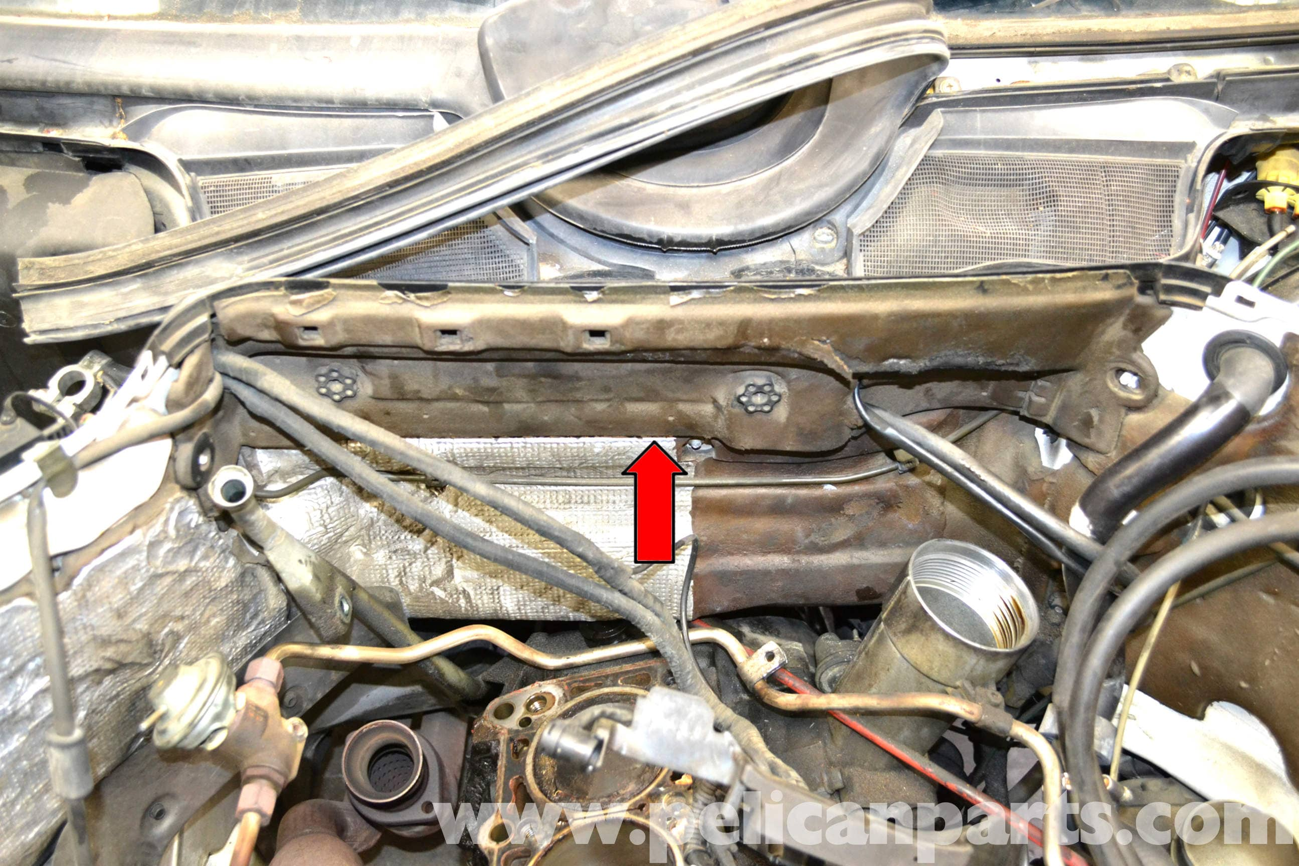 Mercedes Benz W124 Blower Motor Replacement 1986 1995 E Class Resistor Further Ford Wiper Wiring Diagram Large Image Extra