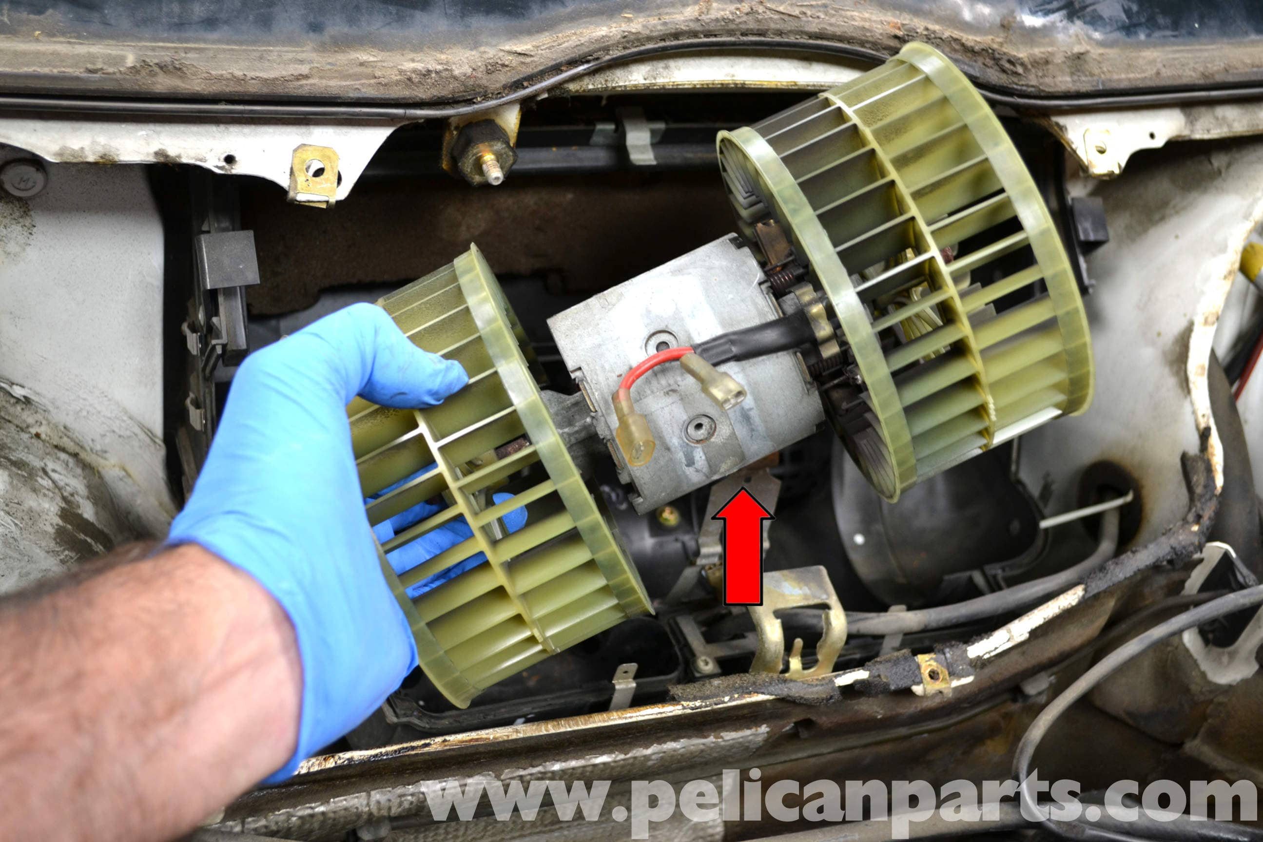 Mercedes Benz W124 Blower Motor Replacement 1986 1995 E Class Wiring Harness Large Image Extra